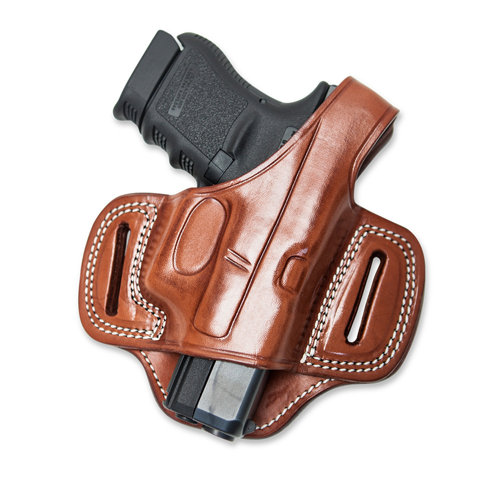 Leather Pancake Holster Open Muzzle – Cebeciarms